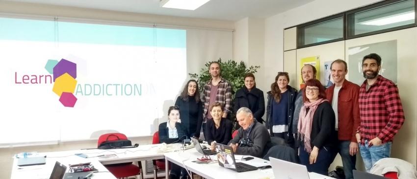 Representantes de las entidades participantes en el proyecto, durante la reunión celebrada en Madrid