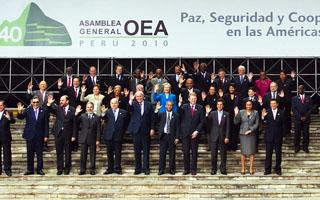 OEA establece una estrategia Hemisférica sobre Drogas